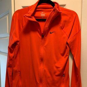 Nike dry fit zip jacket